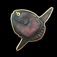 Ocean Sunfish Enamel Pin by Wm Spear Design