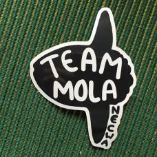 Team Mola Car Window Sticker - by Fin Pin