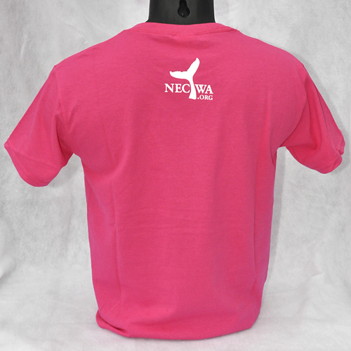 709169ed Great White Shark t-shirt - Heliconia Pink - short-sleeved Youth