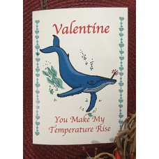 Whale Fever Valentine Cards (5-pk)