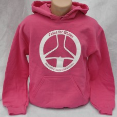 Peace For Whales sweatshirt - Heliconia Pink - hoodie Adult
