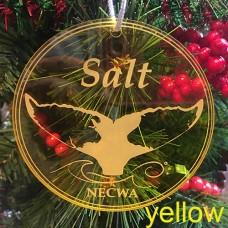 Salt, the Humpback Whale, Holiday Ornament - acrylic